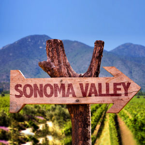 Sonoma Valley that way
